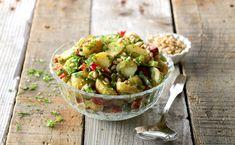 Pesto, Potato Salad, Clean Eating, Potatoes, Vegan, Ethnic Recipes, Food, Potato, Eat Healthy