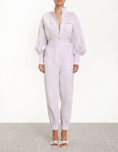 Discover the latest collection of designer jumpsuits & playsuits with ZIMMERMANN. Find the one that suits your style by shopping online or instore. Couture Fashion, Hijab Fashion, Fashion Dresses, Iranian Women Fashion, Minimalist Fashion Women, Designer Jumpsuits, Boiler Suit, Classy Casual, Contemporary Fashion