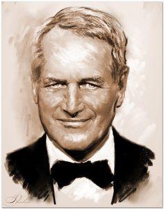 Paul Newman por shahin
