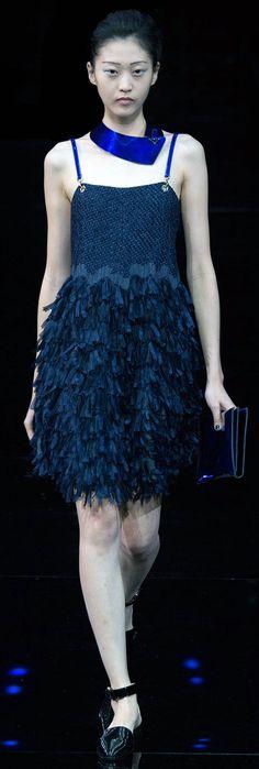 Emporio Armani spring/summer 2015 collection – Milan fashion week