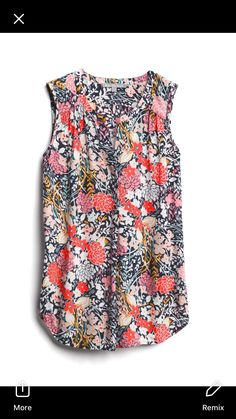 Love this and any floral or fun print in my color scheme. I prefer longer sleeves generally though Casual Outfits, Cute Outfits, Fashion Outfits, Womens Fashion, Casual Attire, Stitch Fix Outfits, Stitch Fix Stylist, Work Attire, Get Dressed