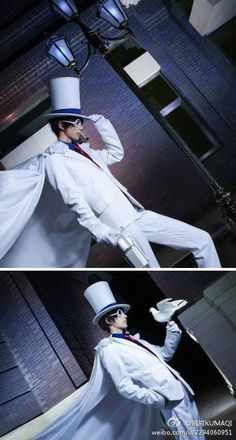 Kaito Kid [Detective Conan] (Coser: KumaQi) {Country: China}