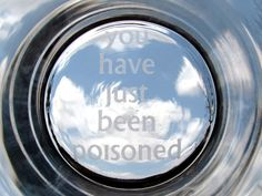 You Have Just Been Poisoned pint glass how to