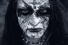 King ov Hell | Acrylic on wood | 60x40cm   #painting #realism #blackmetal #monochrome #gorgoroth #kingovhell #arts_realistic #art #portrait #artwork #artstag #artcollective #photorealism #arts_realistic #norwegianblackmetal #worldofartists #acrylic #abbath #corpsepaint #instaart #blackandwhite #bnw #monoart #bnw_society #bw_lover #metal #noir #artcollector #artcollection