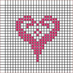 Cross Stitch Numbers, Cross Stitch Heart, Cross Stitch Borders, Cross Stitch Alphabet, Cross Stitch Patterns, Knitting Charts, Knitting Patterns, Crochet Patterns, Loom Beading