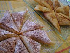 Pasteles marroquíes dulces y salados