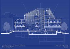 Imagen 23 de 34 de la galería de Renovación y Expansión Museo de Arte de Harvard / Renzo Piano + Payette. Corte