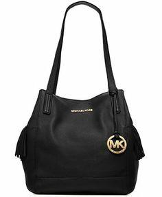 a333ccc1ccab Michael Kors Handbag Ashbury Large Grab Bag Black Michael Kors,http://www