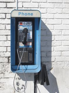 pay phones were more common than cell phones!
