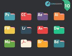 """Check out new work on my portfolio: """"Adobe cc Folders Working On Myself, New Work, Adobe, Behance, Flat Icons, Resume, Gallery, Check, Free"""
