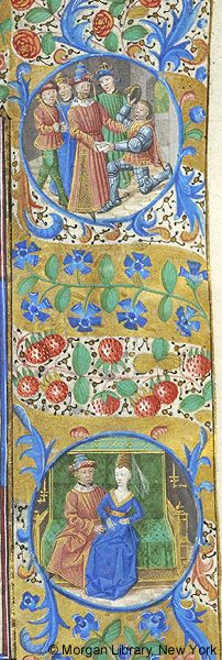 Book of Hours, MS M.1003 fol. 113r - Images from Medieval and Renaissance Manuscripts - The Morgan Library & Museum
