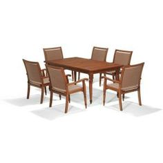 Thomasville Palmetto Estates 7-Piece Patio Dining Set-2423100000 at The Home Depot