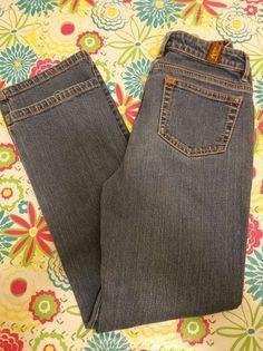 Wrangler Womens Jeans Aura Short Rise Cotton Stretch Dark Wash Denim Sz 4 Petite #Wrangler #BootCut #Casual