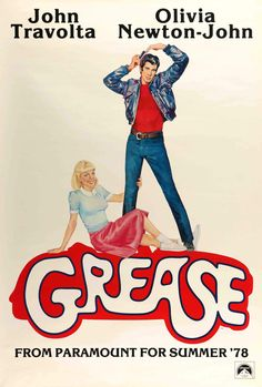 Grease posters for sale online. Buy Grease movie posters from Movie Poster Shop. We're your movie poster source for new releases and vintage movie posters. Old Movie Posters, Classic Movie Posters, Cinema Posters, Film Posters, Classic Movies, Concert Posters, Image Cinema, Cinema Tv, Film Movie