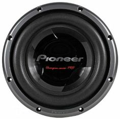 """Brand New Pioneer TS-W3002D2 12"""" 3500 Watt Dual 2 ohm Car Subwoofer with Air Suspension System by Pioneer. $117.94. Brand New Pioneer TS-W3002D2 12"""" 3500 Watt Dual 2 ohm Car Subwoofer with Air Suspension System Features:      * Size: 12""""     * Woofer Cone Material: Interlaced Basalt/Carbon Fiber Reinforced IMPP Cone     * Surround: Wide-Roll, 3-Layer Fiber Woven Aramid Radial with Honeycomb Cloth     * Voice Coil: Dual 4-Layer, Long Voice Coil     * Voice Coil..."""
