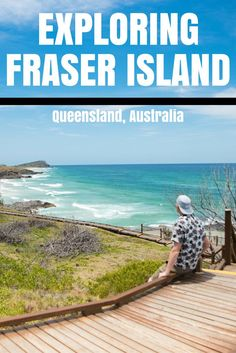FRASER ISLAND, Australia is one of the most uniquely beautiful places in the entire world!