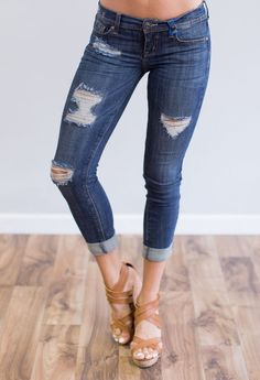 Make You Stay Jeans - Light Blue | Indigo, Love and Love the