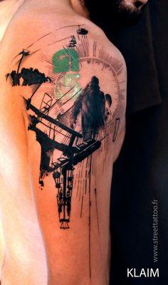 Klaim @ Street tattoo