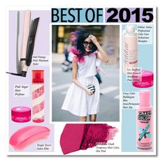 """No 263:Best of 2015: Hairstyle of the Year"" by lovepastel ❤ liked on Polyvore featuring GHD, Fekkai, Tangle Teezer, Pink Sugar and bestof2015"