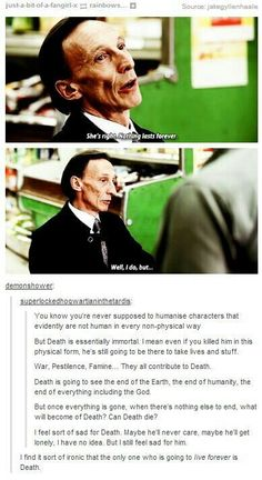 It's funny tho because he said that, but Dean literally kills him at one point