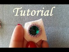 Bead Embroidery Tutorial, Bead Embroidery Jewelry, Beaded Jewelry Patterns, Beaded Embroidery, Beading Patterns, Beaded Braclets, Beaded Earrings, Bracelets, Jewelry Making Tutorials