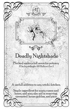Deadly Nightshade | Flickr - Photo Sharing!