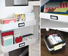 Greeting Card Organization // Live Simply by Annie