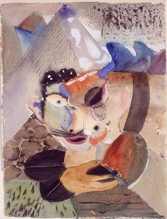 """Gunta Stölzl - Bauhaus Master  """"Head-1920"""""""