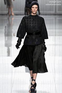 Christian Dior Fall 2012 | Paris Fashion Week  Click to see styles in gif /  www.stylegif.com
