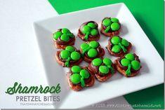 Shamrock Pretzel Bites - That's What {Che} Said...