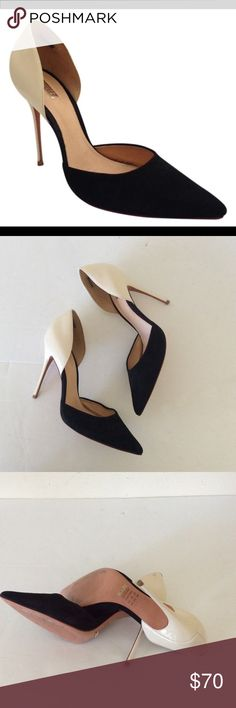 """Schutz d'Orsay Pointy Toe Pumps Size 9 Heel 4"""" Schutz d'Orsay Pointy Toe Pumps Size 9 Heel 4"""" a few scuff marks on both shoes ❌ sorry no trades - price is firm even if bundled ❌ SCHUTZ Shoes Heels"""