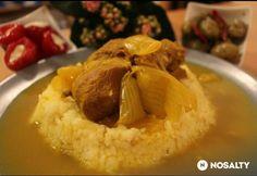 Perzsiai fűszerezésű báránycomb | NOSALTY Lamb Shanks, Baked Potato, Curry, Potatoes, Baking, Ethnic Recipes, Food, Turmeric, Curries