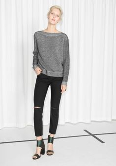 & Other Stories | Boat Neck Sweater