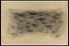 """SONIA GECHTOFF (American b. 1926) """"Untitled"""" Graphite Drawing, double sided 60 ½"""" x 40 ½"""""""
