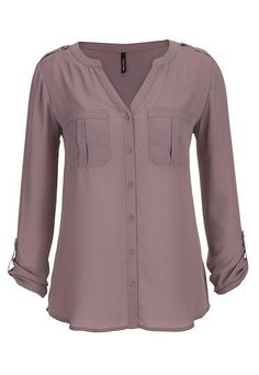 the perfect blouse with two pockets (original price, $29) available at #Maurices
