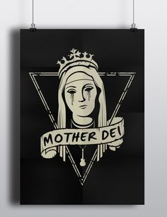 Mother Dei – two is better than one #meshhub #ideeinterazioniprogetti #graphicidentity #website #design #artworks #motherdei #rock #band