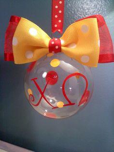 Chi Omega ornament :)