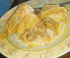 Kapucsínós kekszszelet Recept képpel - Mindmegette.hu - Receptek Spanakopita, Camembert Cheese, Cabbage, Turkey, Meat, Chicken, Vegetables, Ethnic Recipes, Food