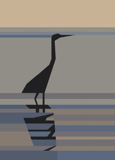 PR-Heron, Paper Pieced - free pattern