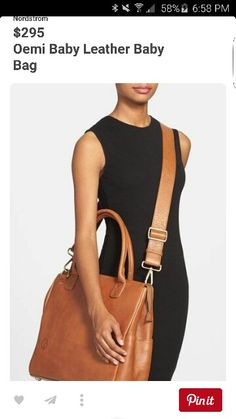 Leather Baby Bag, Leather Diaper Bags, Nordstrom, Fashion, Moda, Fashion Styles, Fashion Illustrations