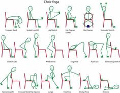 chair yoga: from face book's World Arthritis Day page