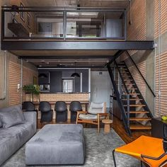 loft design We know you guys are into interiors, our minimal interior design series is our most popular on the site. However, if you want more interior design and Home Design, Loft Interior Design, Tiny House Design, Interior Design Inspiration, Interior Architecture, Design Design, Design Trends, Design Bedroom, Urban Design