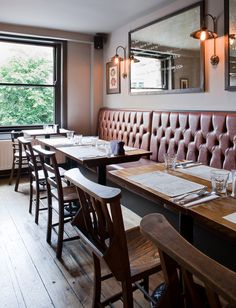 Gastro Pub | The Broad Chare interior design by Ward Robinson | Newcastle upon…