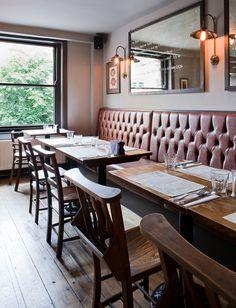Gastro Pub   The Broad Chare interior design by Ward Robinson   Newcastle upon Tyne