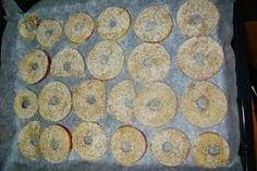 Τσιπς μήλου με κανέλα κ κρυσταλλική στέβια