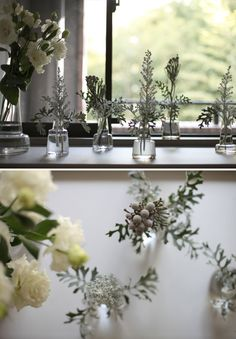 Holmegaard (ホルムガード) /  Flora ベース Farm House, Flower Arrangements, Dairy, Gardening, Display, Table Decorations, Floral, Green, Flowers