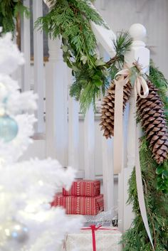 FRENCH COUNTRY COTTAGE: {DIY} Fresh Mixed Garland & Randomness