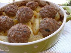Μπιφτέκια με Πατάτες στο φούρνο   cookcool