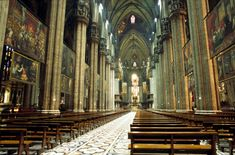The Cathedral of Milan, Italy The Places Youll Go, Places Ive Been, Places To Visit, Duomo Milan, Milan Cathedral, Gothic Architecture, Kirchen, Holiday Travel, Les Oeuvres