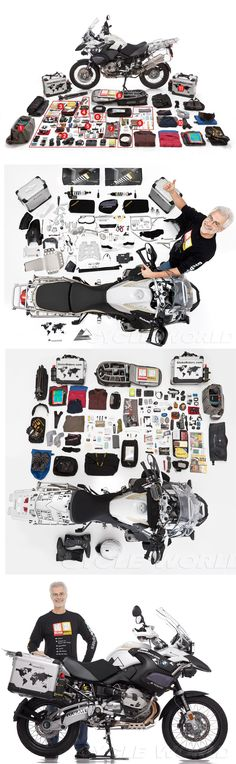 "PACKING YOUR ADVENTURE BIKE ""MULE"" How one man prepared his bike for a 15,000 mile adventure trip    ( BMW R1200GS ) http://www.cycleworld.com/2013/03/19/packing-your-adventure-bike-for-world-traveling/"